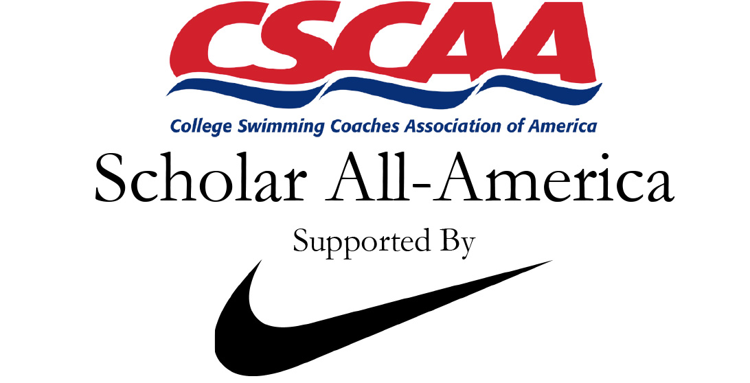 Women's swimming & diving earns CSCAA Scholar All-America distinction