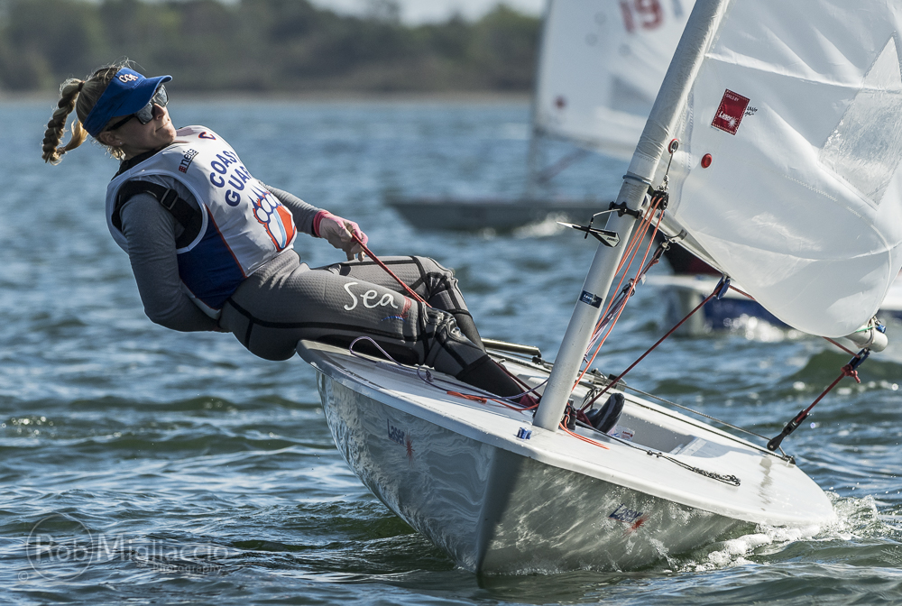 Rohde 2nd at Laser Performance Women's Singlehanded National Championship