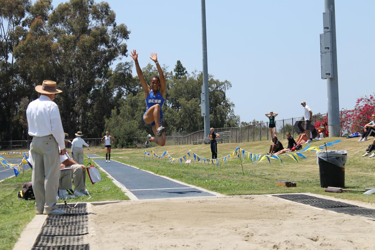 It's Four in a Row for Nwaba--Big West Honors Her As Heptathlon Championship