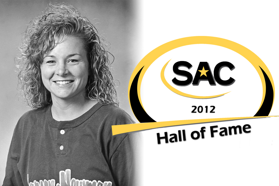Softball All-American Sammy Hatcher Chafin named to 2012 SAC Hall of Fame Class