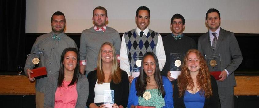 The 2014 Brandeis Department of Athletics Award Winners