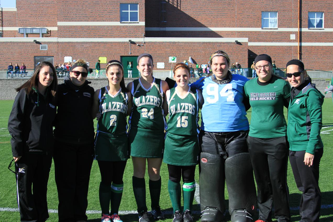 Field Hockey Earns Playoff Spot With Win Over Bay Path On Senior Day