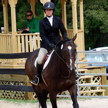 Tripp Guides Riding To Reserve Championship at UMass Show