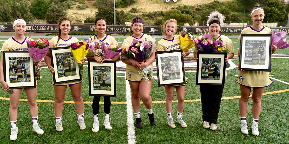 Senior Day a Success; Poets Cruise past Whitworth 20-5