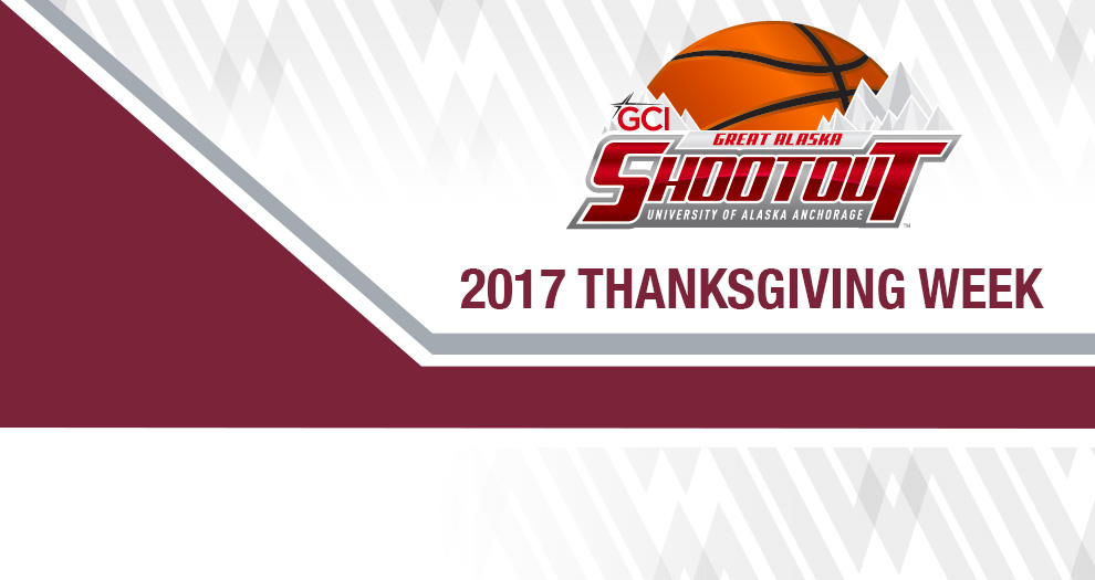 Game Times, Pairings Announced for Men's Basketball in GCI Great Alaska Shootout