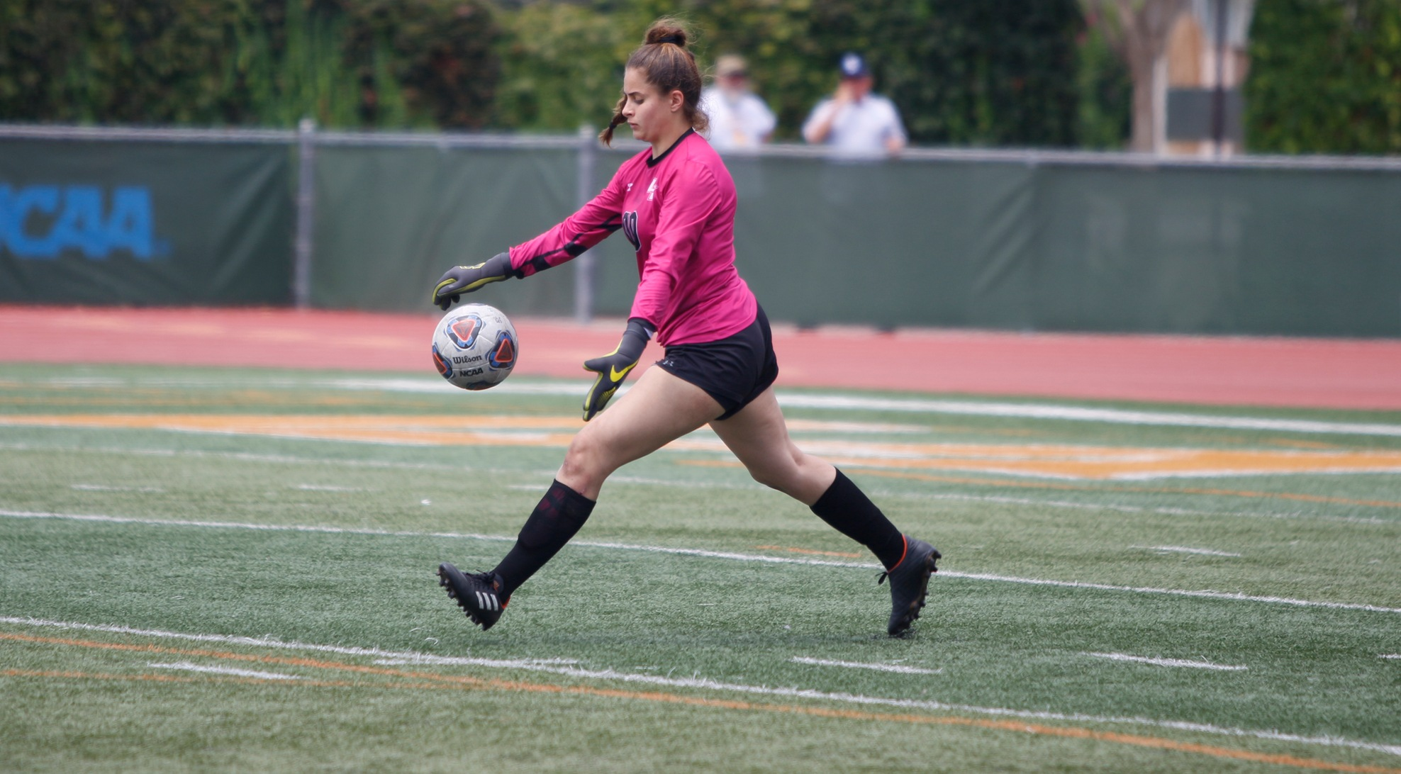 Women's Soccer Battles but Falls Late to UCSC