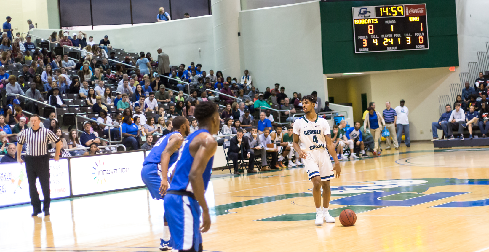 Bobcat Men's Basketball Drops Neutral Site Contest to Erskine, 66-62