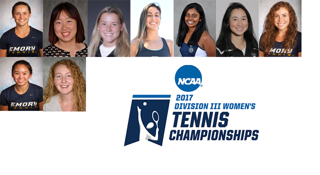 Nine UAA Players Earn Berths in NCAA Women's Tennis Singles and Doubles Championships