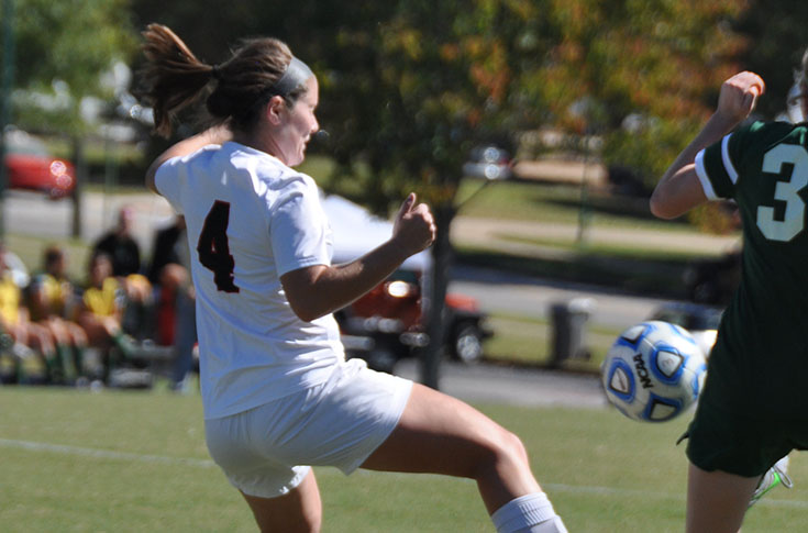 2015-16 in Review: Rachel Jenkins scores two goals as women's soccer picks up first win of season