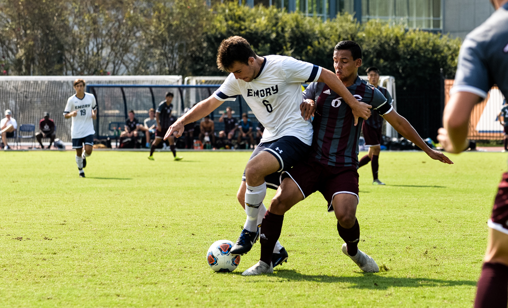 Emory Men's Soccer Plays to 1-1 Draw with Maryville
