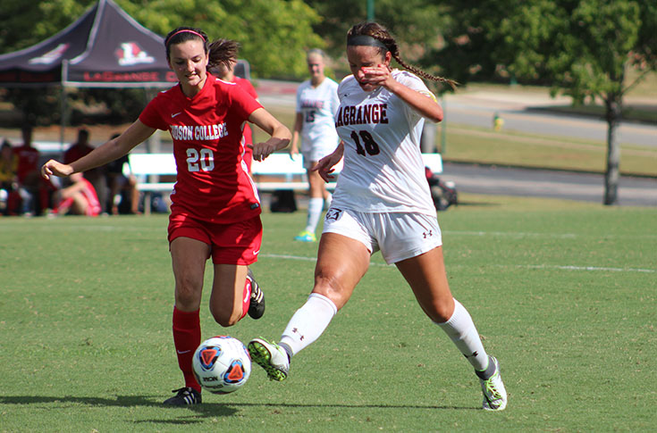 Women's Soccer: Panthers blank visiting Judson 4-0 for first win of season