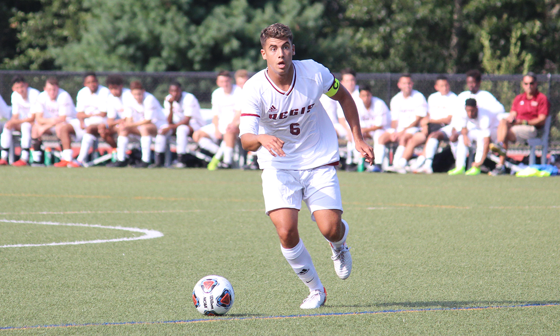 Men's Soccer Strikes First, Falls to Lesley in Opener