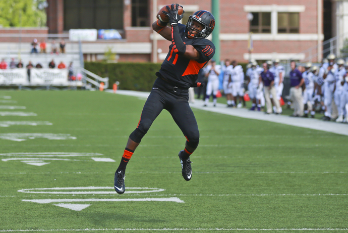 Henry Ties Record in 37-28 Win Over Bearcats
