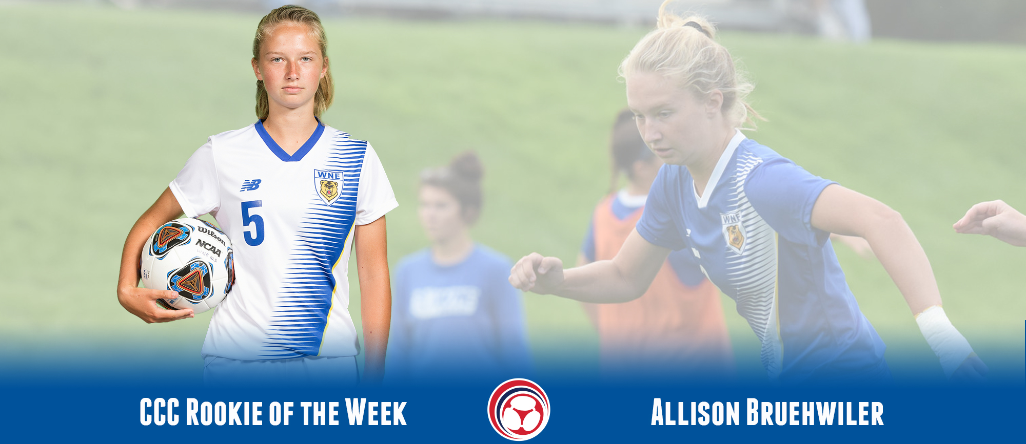 Allison Bruehwiler Collects CCC Rookie of the Week Honors