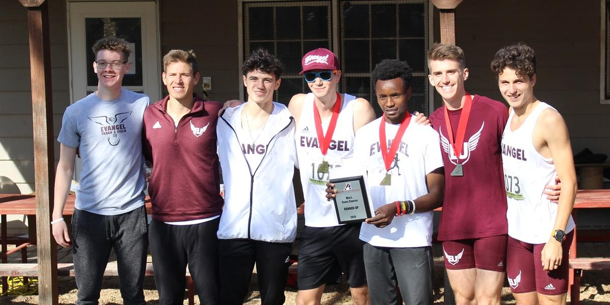 Evangel Men's Cross Country Earns Historic 2nd Place at Heart Championships