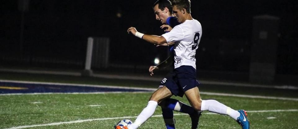 Men's Soccer Battles Trine to Scoreless Draw