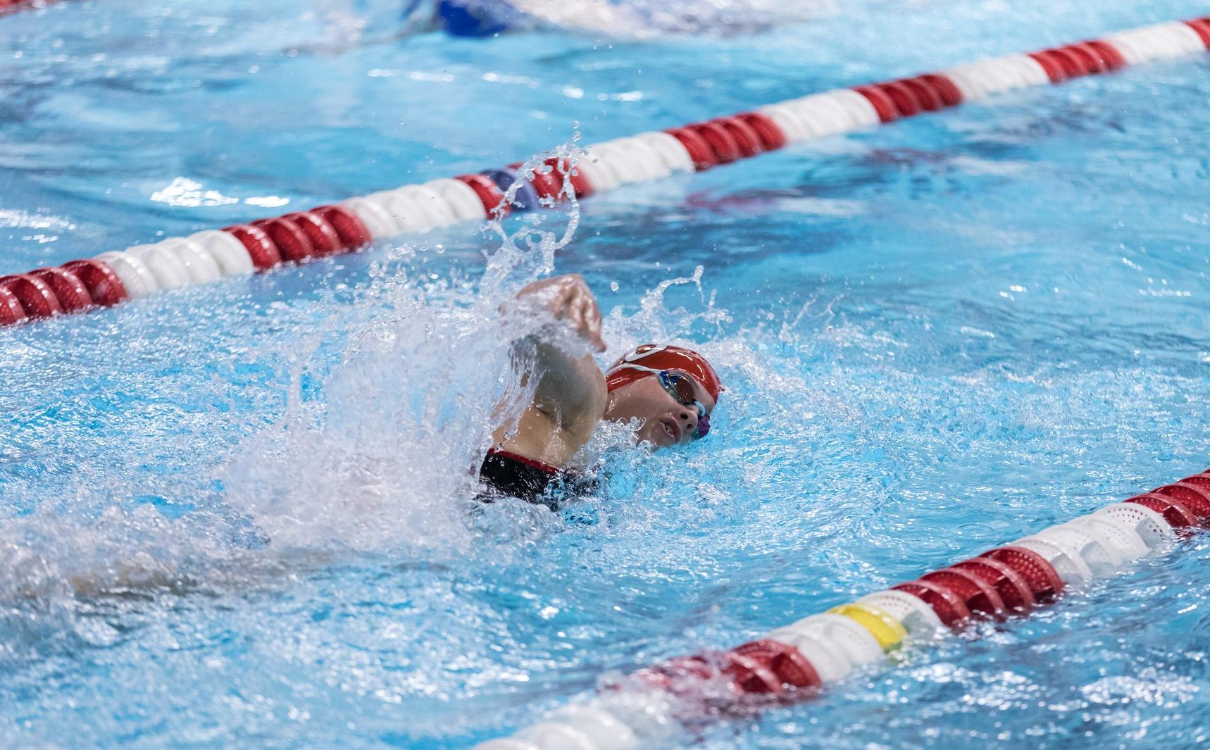 Engineers Power to Victory Over Women's Swimming and Diving