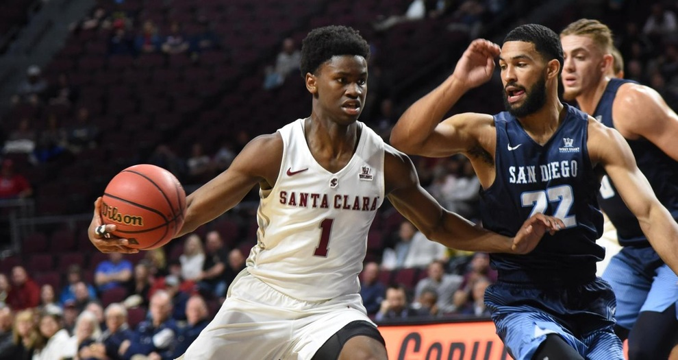 Men's Basketball Season Ends Against San Diego in WCC Tournament
