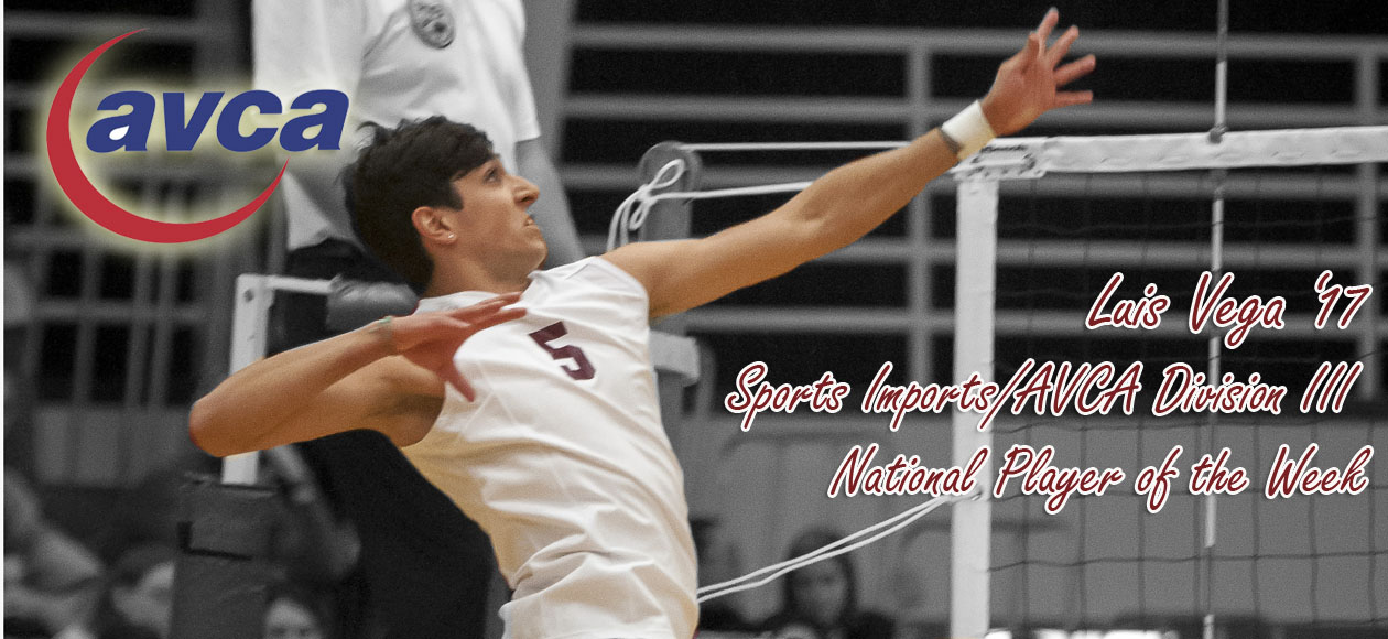Vega Named Sports Imports/AVCA Division III National Player of the Week