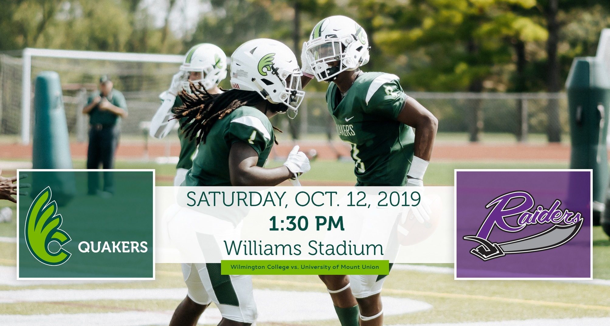 Football Hosts No. 2 Mount Union on Saturday