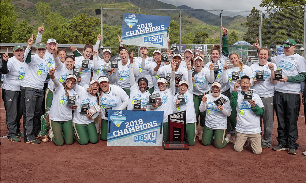 BIG SKY TOURNAMENT CHAMPIONS!! SOFTBALL BEATS NORTHERN COLORADO, WILL PLAY IN THE NCAA TOURNAMENT