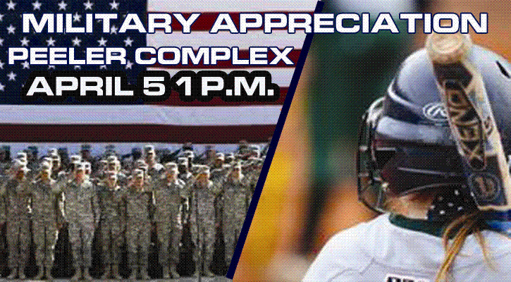 "GC Athletics Sets ""Military Appreciation Day"" Saturday, April 5"