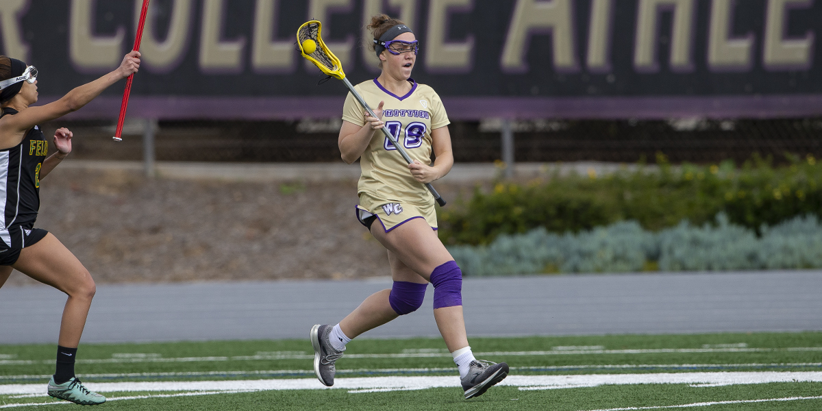 Women's Lacrosse falls to Redlands on Dr. Fred Bergerson Tribute Night