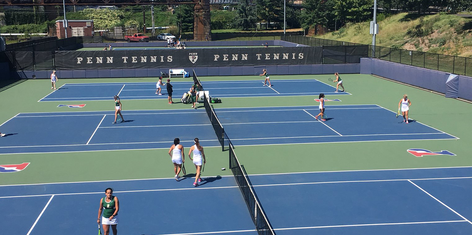 Mazurek and Paran Pair for a Win on the First Day of Women's Tennis' Season