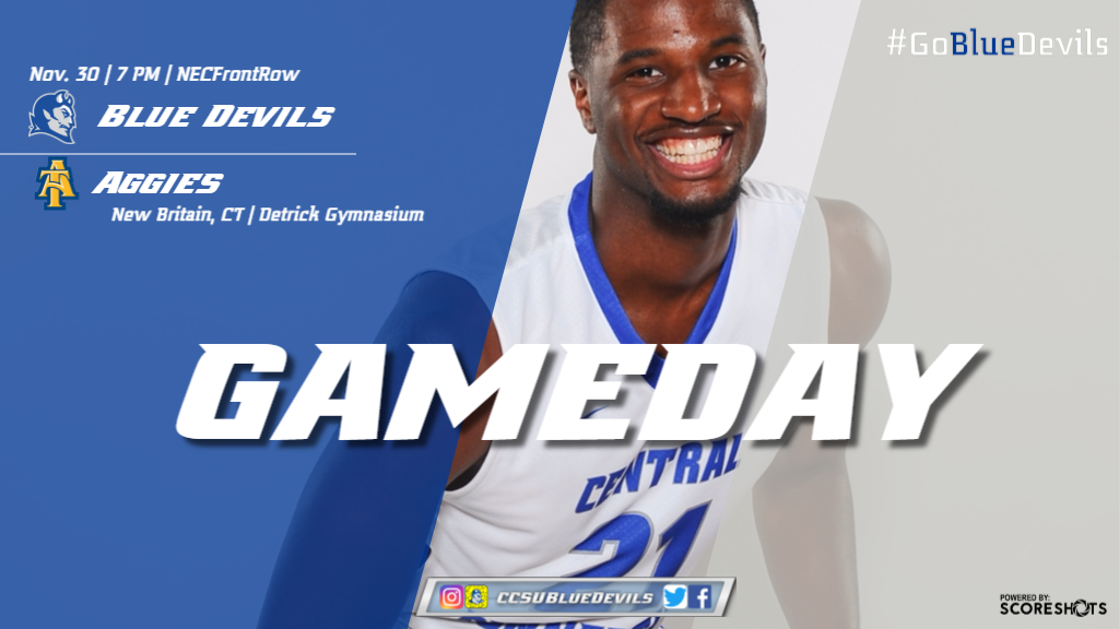 Men's Basketball Hosts North Carolina A&T on Thursday