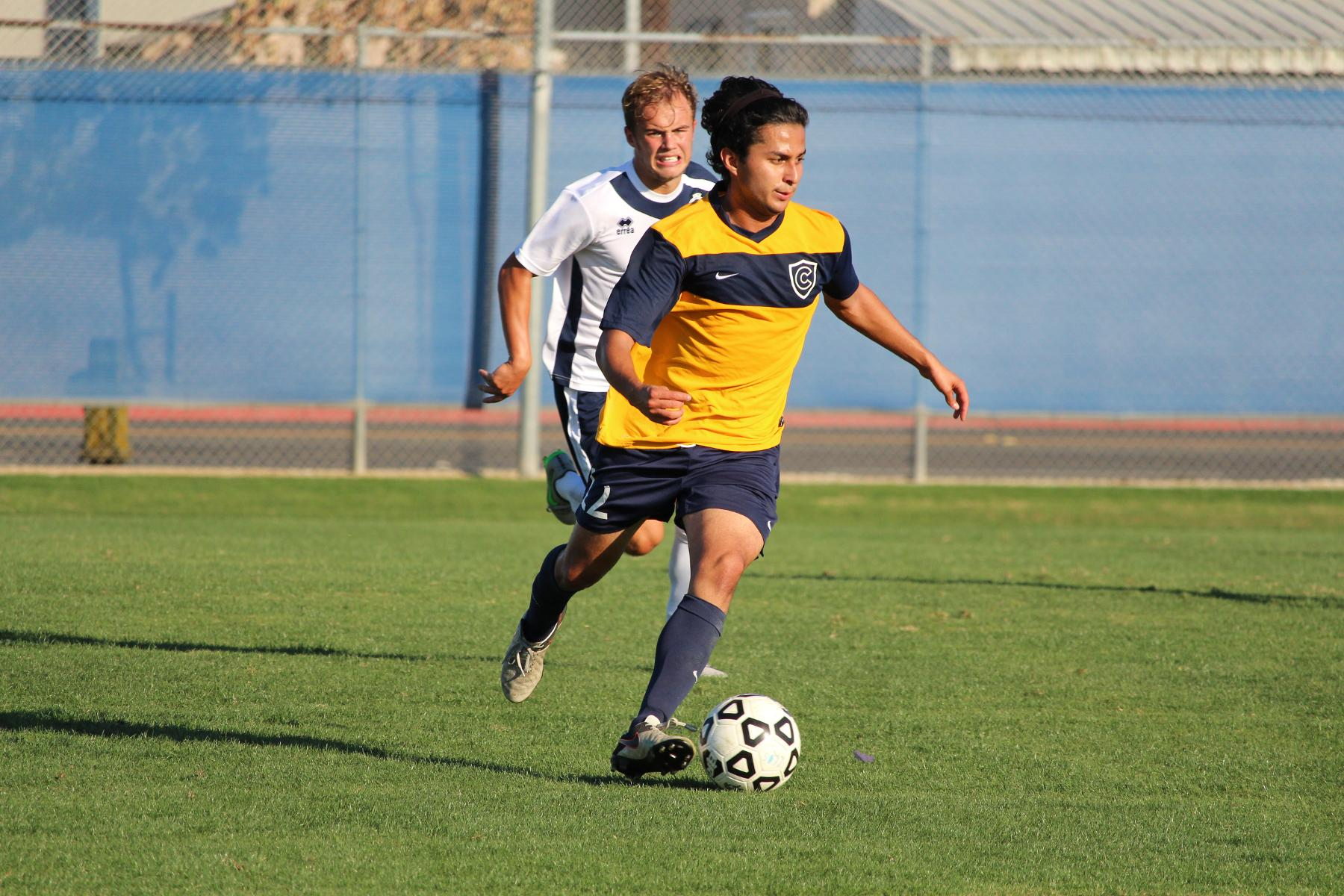 Men's Soccer Falls to Irvine Valley College, 4-2