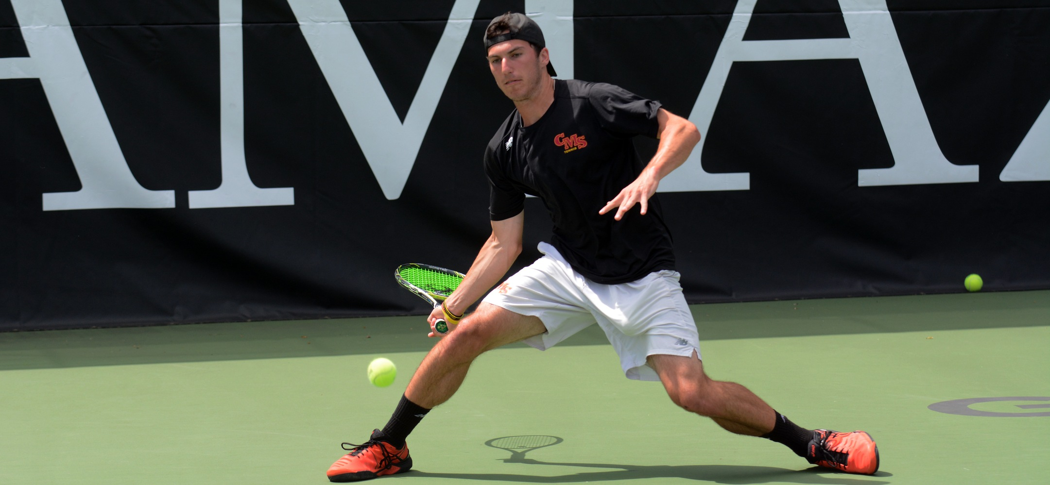 Nikolai Parodi's NCAA Singles Run Ends in Quarterfinal Round for CMS Men's Tennis