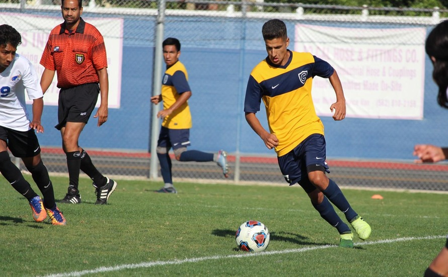 Men's Soccer Claims Top Spot in OEC Standings with Victory Over SCC, 2-1