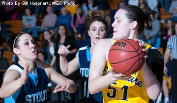 Double-Doubles March Women's Basketball Past Superior