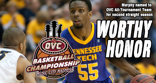 Murphy named to OVC All-Tournament Team
