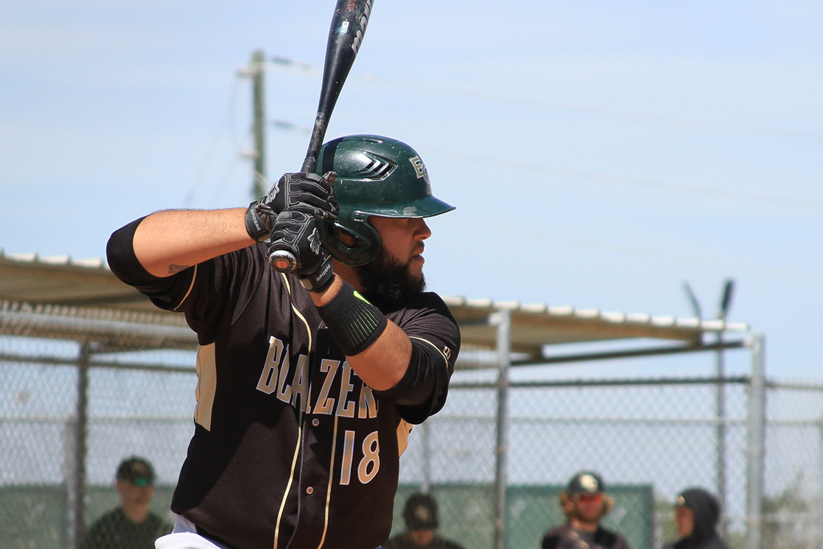 Baseball Splits Twin Bill At Lesley