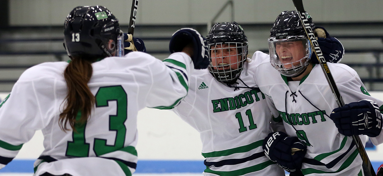 No. 10 Nationally Ranked Endicott Holds Off Colby, 4-3