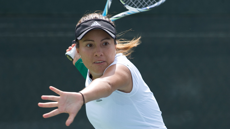WOMEN'S TENNIS PUTS UP FIGHT AGAINST No. 45 WASHINGTON IN 5-2 DEFEAT