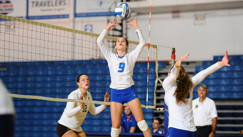 Volleyball Sweeps Fairleigh Dickinson, 3-0, Saturday