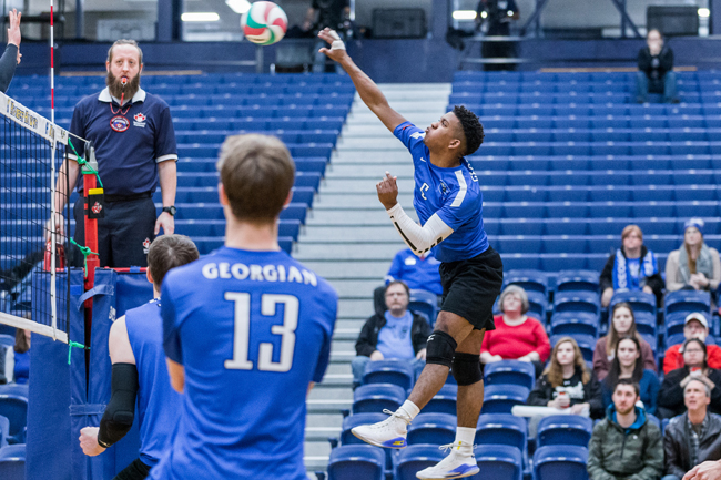 GRIZZLIES SEASON WRAPS UP AT OCAA MEN'S VOLLEYBALL CHAMPIONSHIP