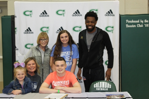 Columbus' Wright Joins Track and Field Team