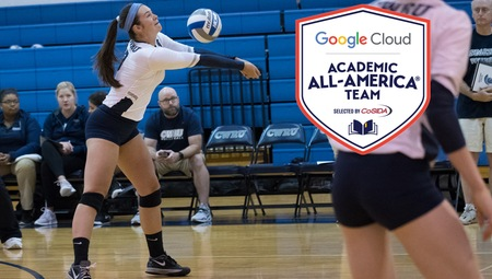 Karley King of CWRU Named to Google Cloud Academic All-America® Division III Volleyball Team