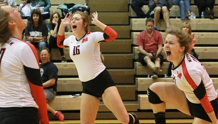 Volleyball set to battle top-ranked Wittenberg and Oberlin