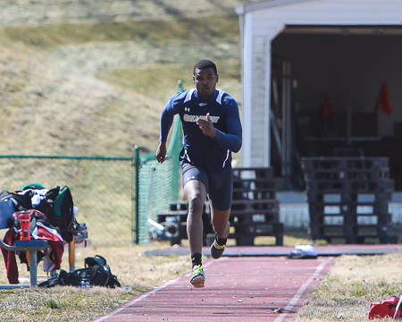 Gallaudet men's track and field places 23rd at ECAC outdoor championships