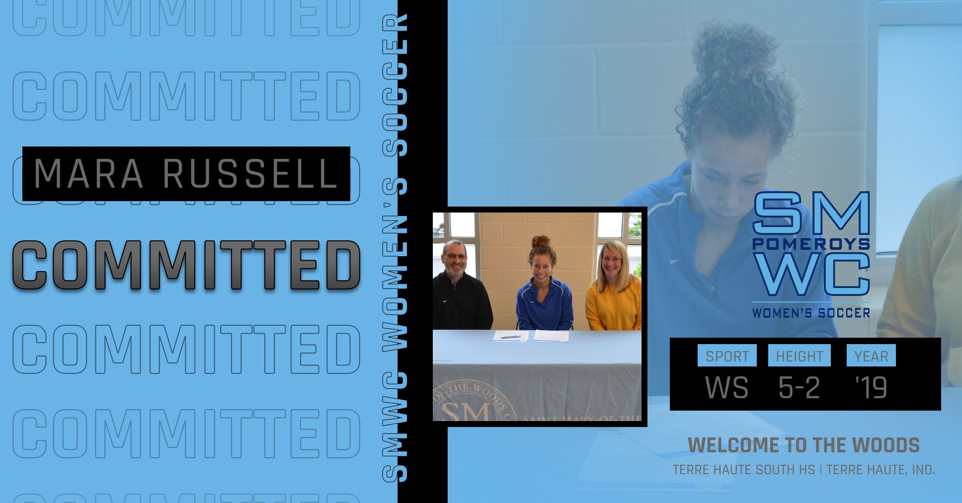 Terre Haute Souths Mara Russell Signs With SMWC Women's Soccer