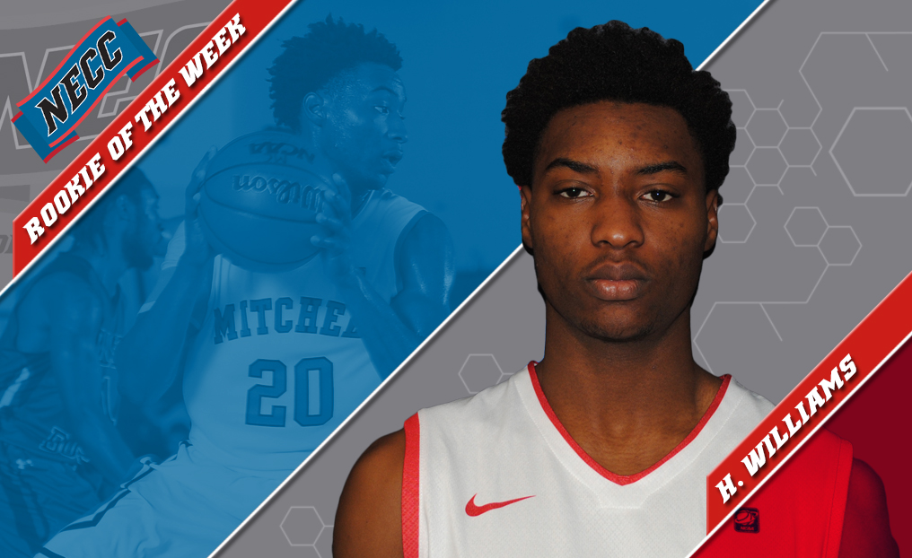 MBB's Williams Tabbed NECC Rookie of the Week