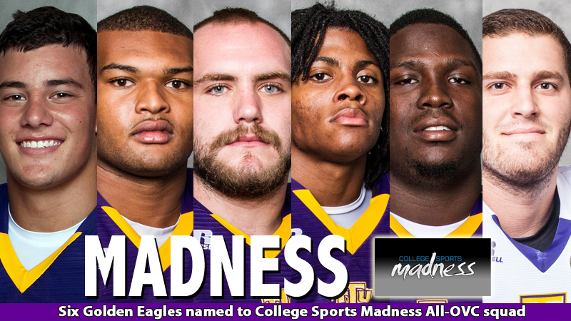 Six Golden Eagles on College Sports Madness all-OVC squad
