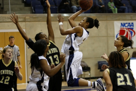 Last second shot sinks Lady 'Canes at UNC Pembroke