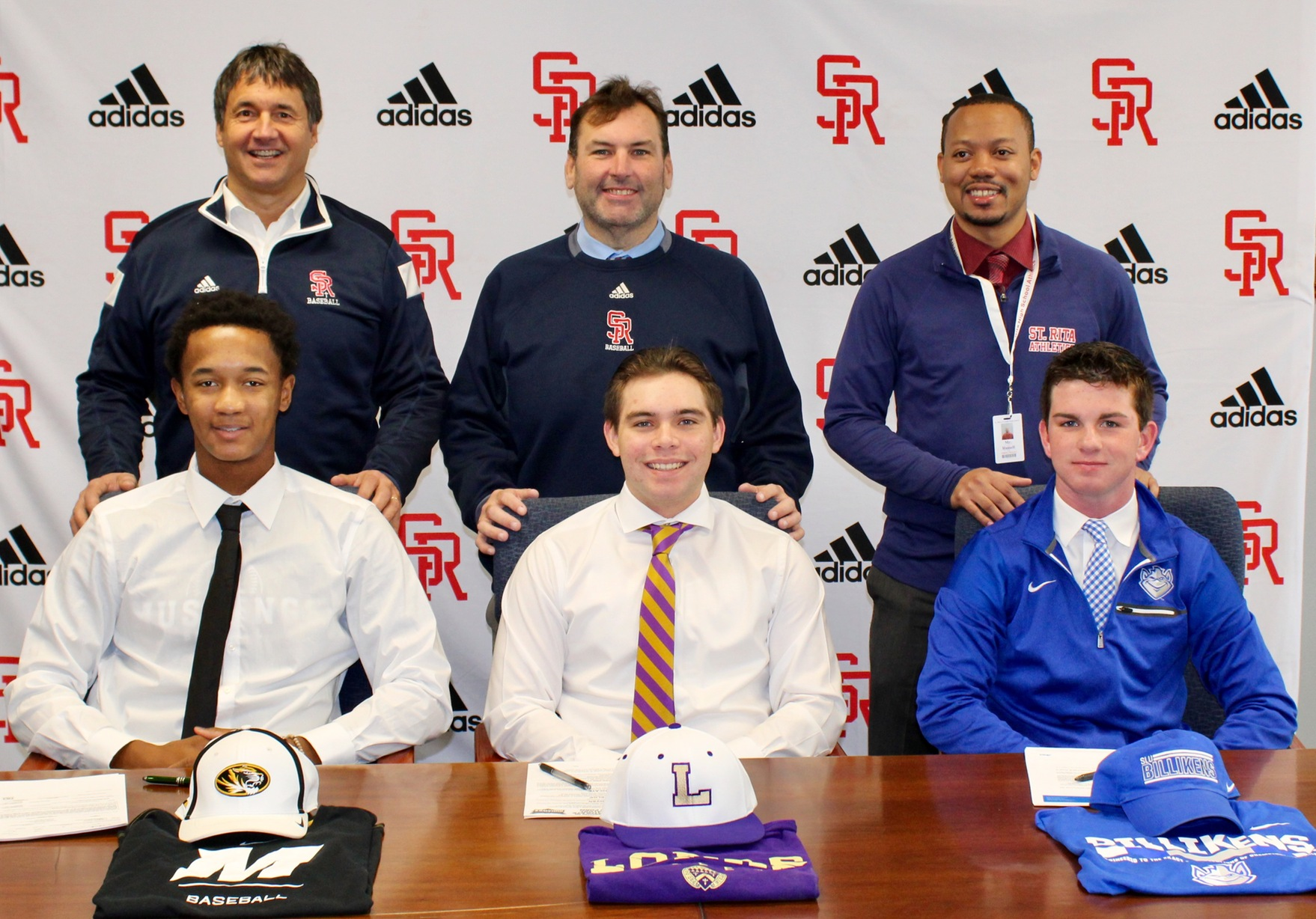 Jalen Greer, Diego Koval and Brendan Carrane on National Signing Day