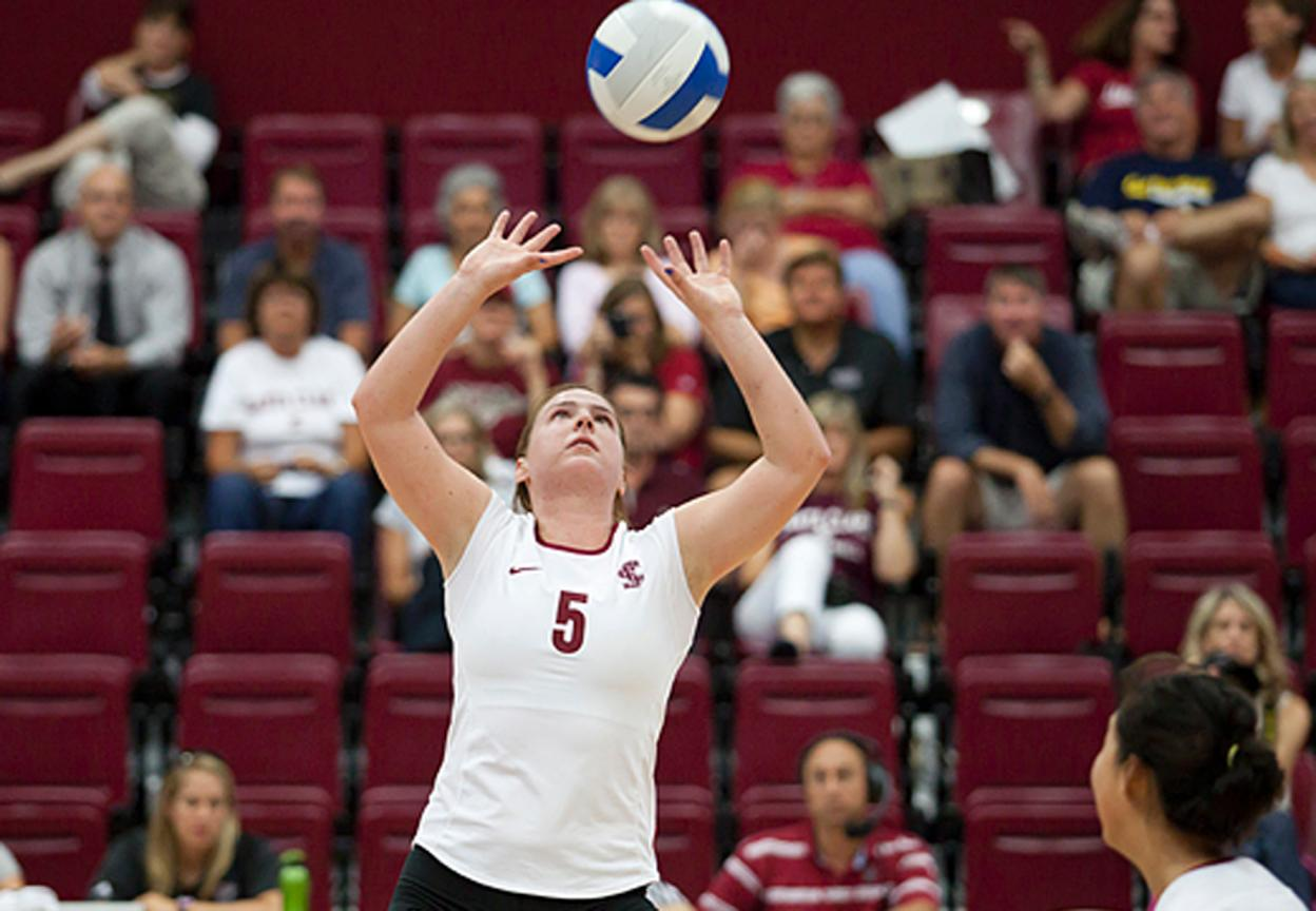Volleyball Falls in 4 to CSU Northridge