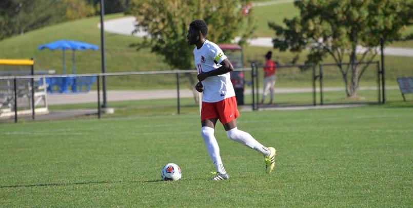 Troy Watson assisted on both goals in the Cardinals' 2-1 victory over Lewis on Thursday afternoon...